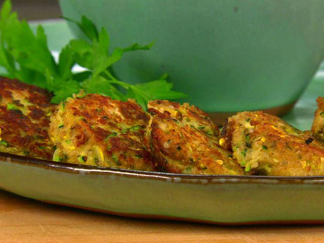 Squash and Zucchini Cakes Recipe : Paula Deen : Food Network
