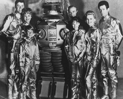 Lost In Space Cast June Lockhart Guy Williams Angela Cartwright Bill Mumy 8x10 Photograph