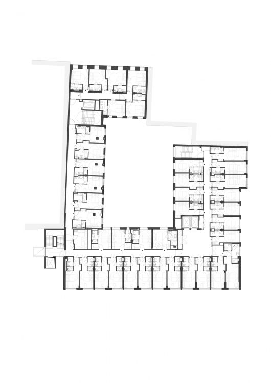 25 best ideas about hotel floor plan on pinterest hotel for Hotel plan design