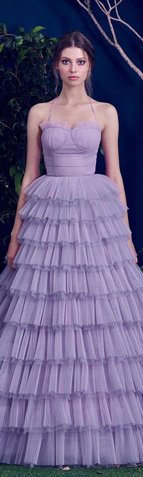 603 best Vestidos lila morado largos/ Long lilac purple dresses ...