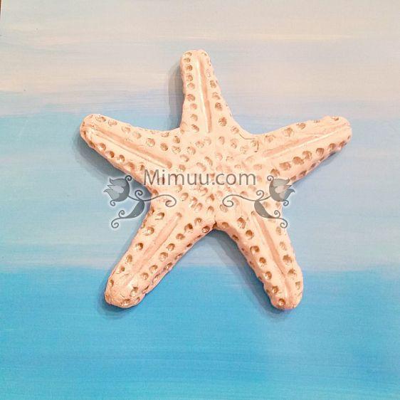 Karbonat Hamuru ile Deniz Yıldızı Yapılışı