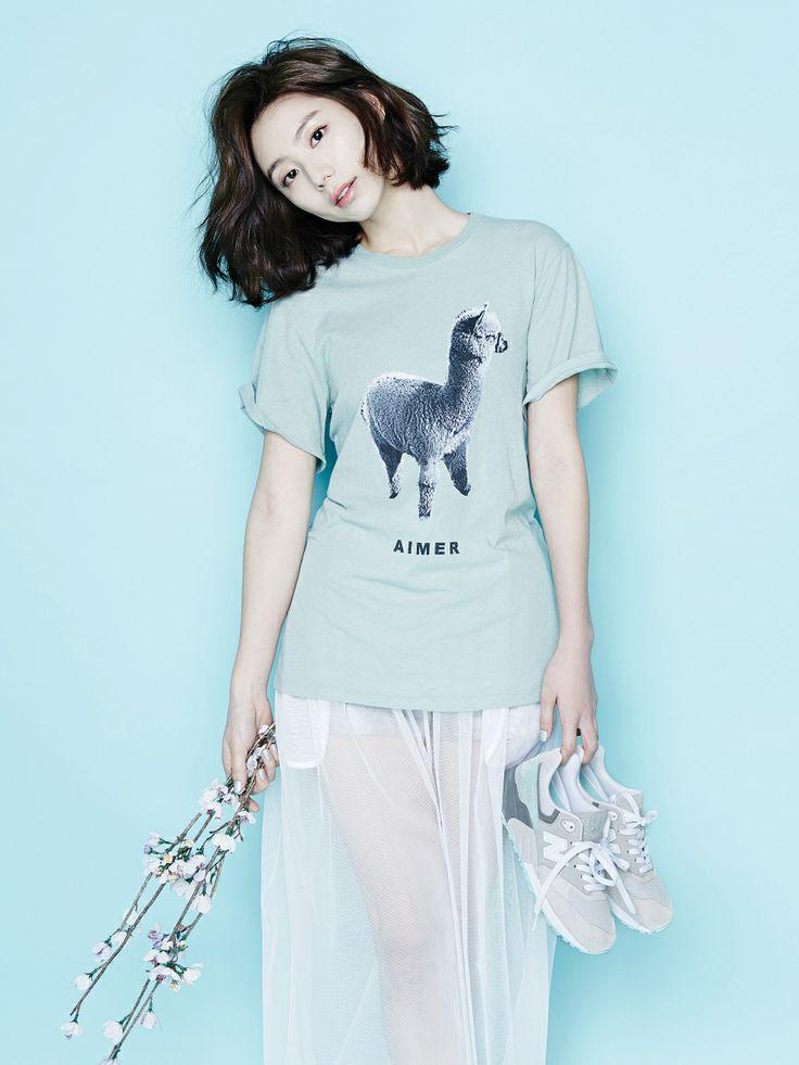 Park Soo Jin and Kim Si Jin - Oh Boy! Magazine