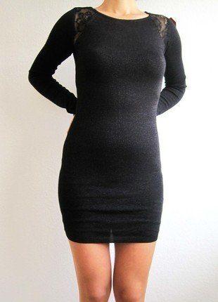 Kaufe meinen Artikel bei #Kleiderkreisel http://www.kleiderkreisel.de/damenmode/kurze-kleider/138317673-schwarzes-kleid-mit-spitze-von-tally-weijl