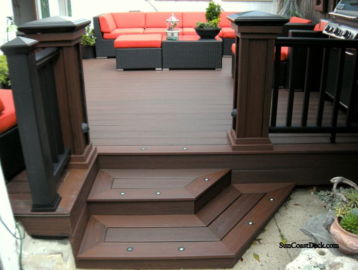 trex transcend deck boards in lava rock can help you achieve a bold and sophisticated outdoor