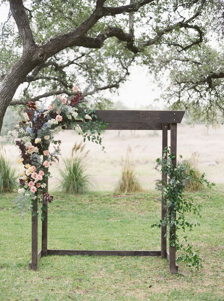 Read More: https://www.stylemepretty.com/2018/03/06/pastel-filled-fall-texas-wedding/