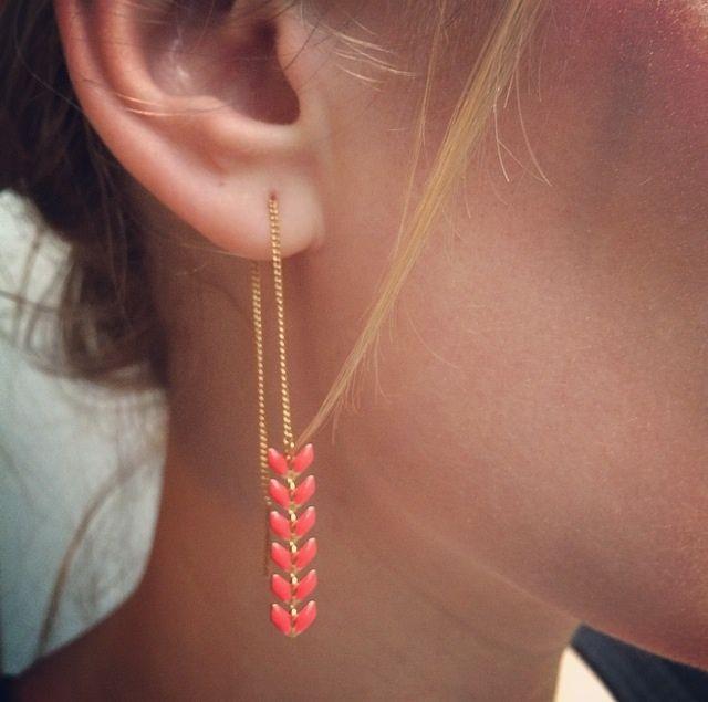 Boucles d'oreilles Néon