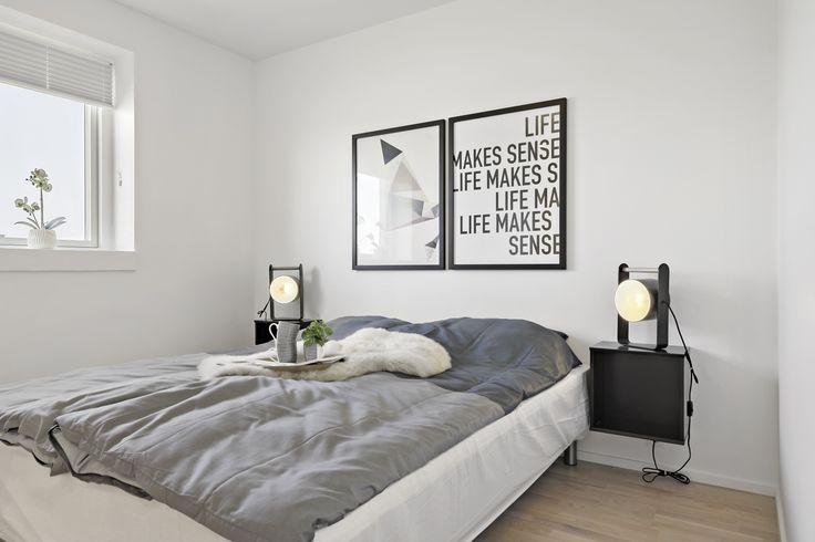 Lækkert soveværelse til forældrene i eurodan-huset.