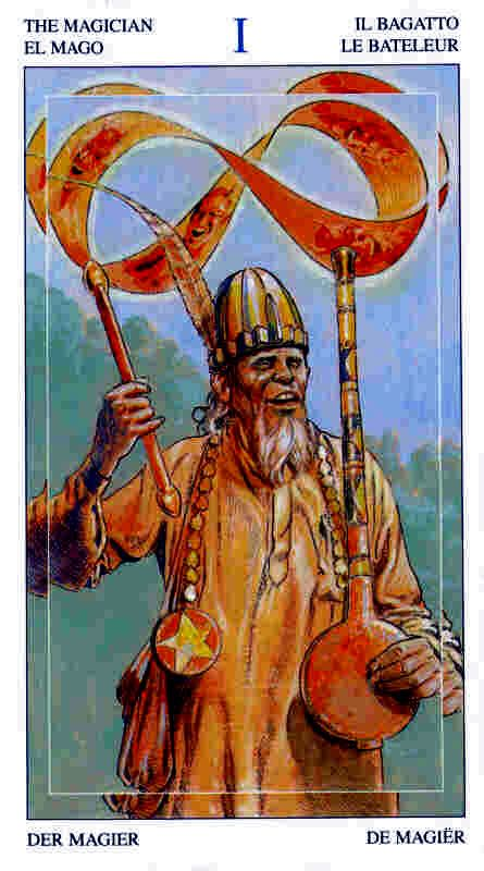 The Magician - Tarot of the Spirit World >>> virtual-fortune-teller.com