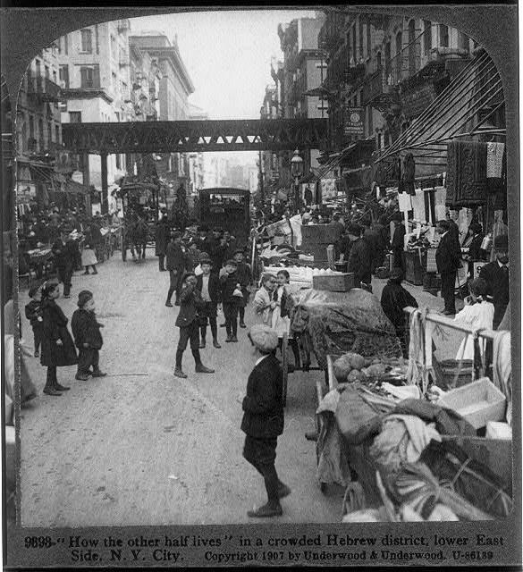 (1) Mulberry Street 1900s - Little Italy, Manhattan