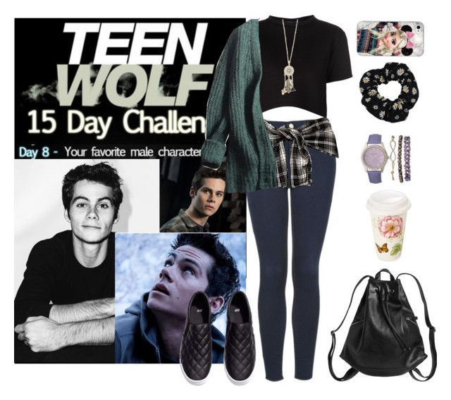 """Teen Wolf Challenge: (8) Favorite male character"" by vampirliebling ❤ liked on Polyvore"