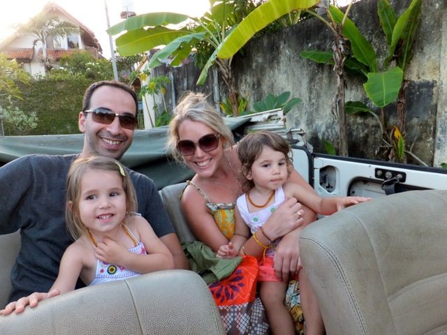 Bali with kids blog - shops and cafe suggestions
