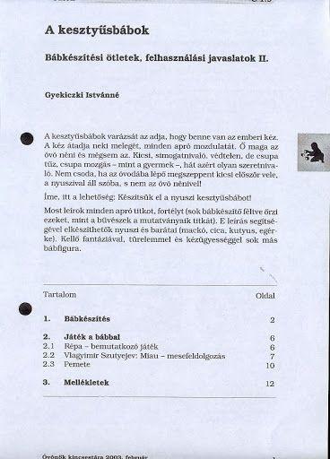 C1-9 - A kesztyűsbábok - Angela Lakatos - Picasa Webalbumok