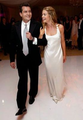 Denise Richards and Charlie Sheen were married on June 15, 2002 true love & still didn't last :(