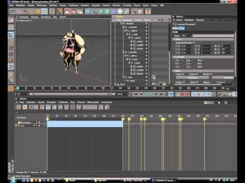 Cinema4D Charakter Rig und Animation Teil 9. Letzter Teil! - YouTube