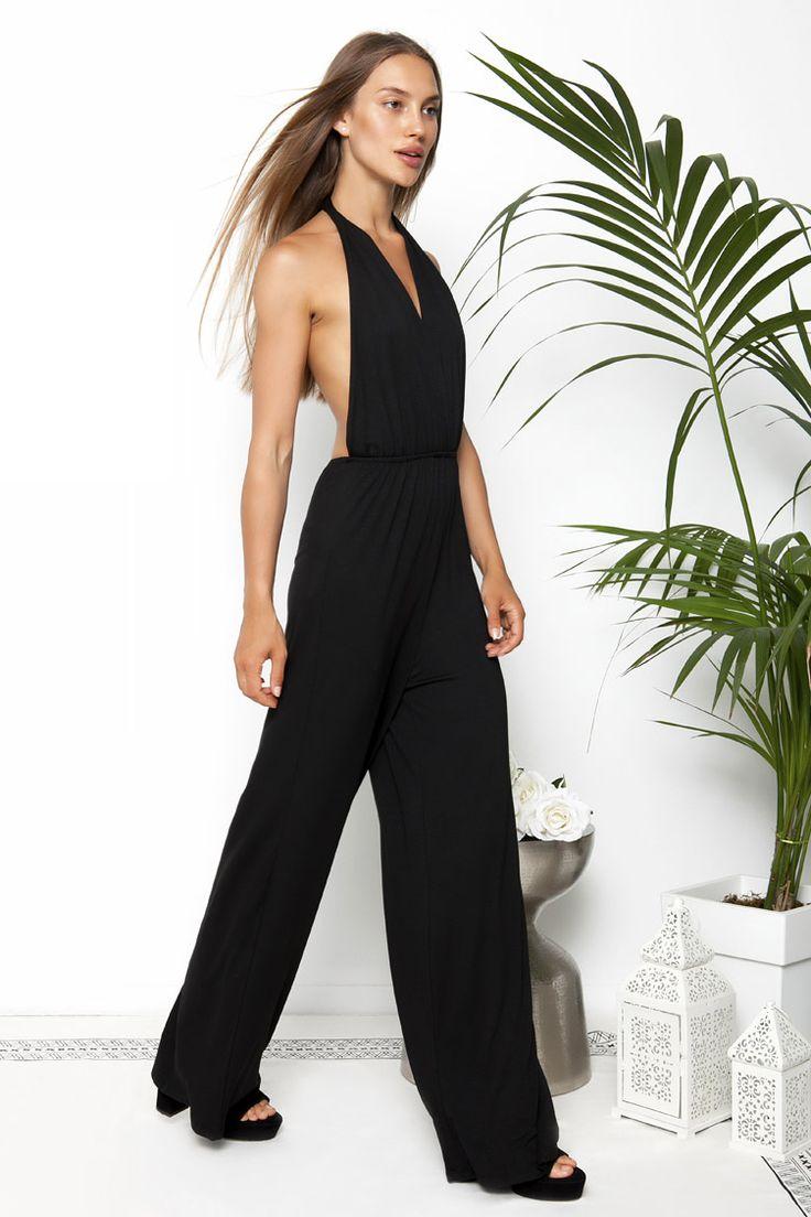 Wrap Backless Jumpsuit - ΡΟΥΧΑ -> Φορέματα & Φόρμες | Made of Grace