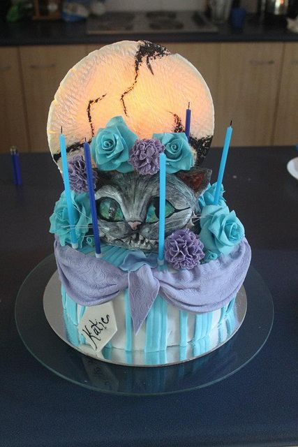 1000 Ideas About Cheshire Cat Cake On Pinterest Cat