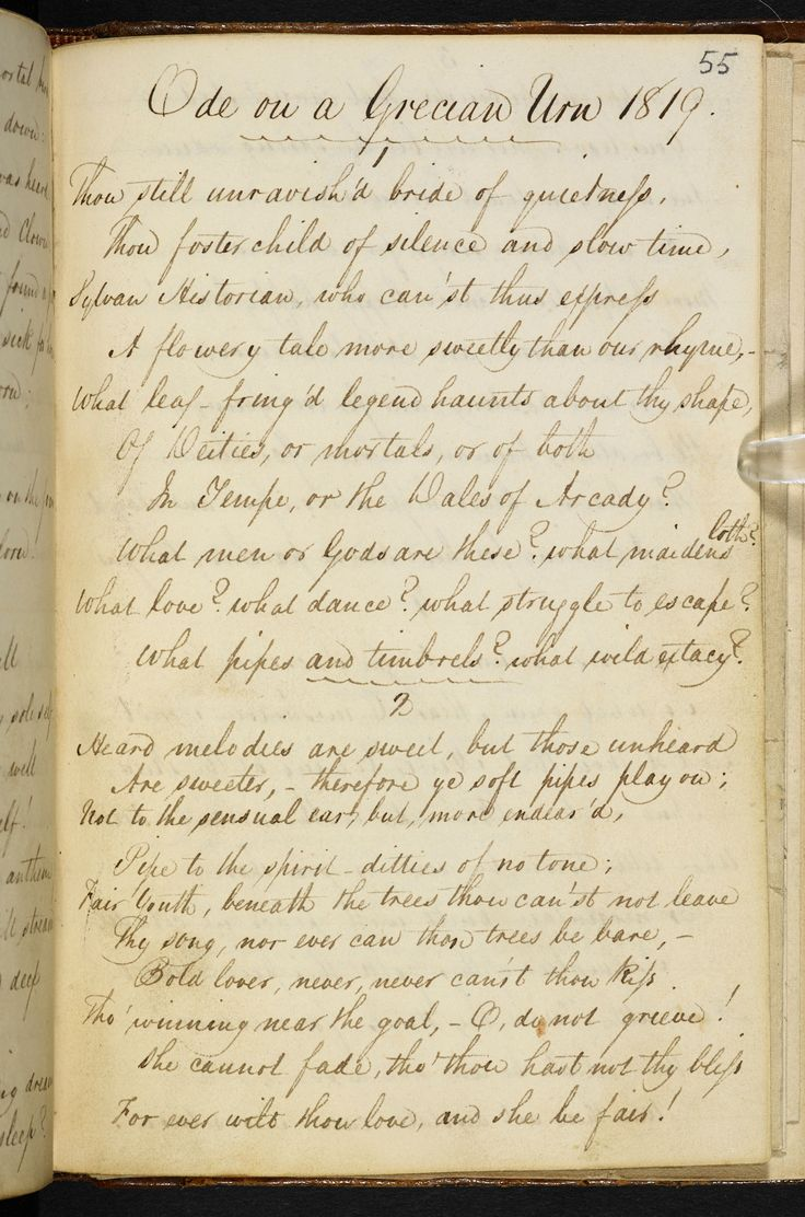 a comparison of ode on a grecian urn by john keats and sonnet 18 by william shakespeare In this lesson, learn about romantic poet john keats' 'ode on a grecian urn,' which is considered one of the greatest odes ever written in the poem, keats has a surprisingly emotional reaction to.