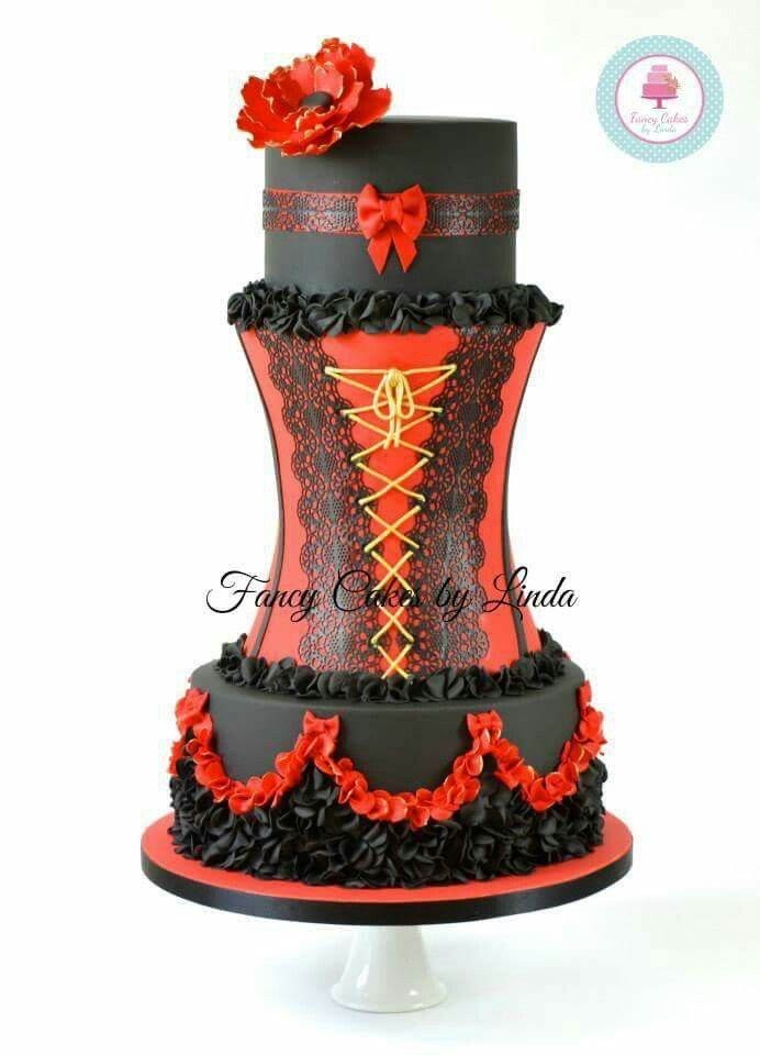 How To Do Corset Cake