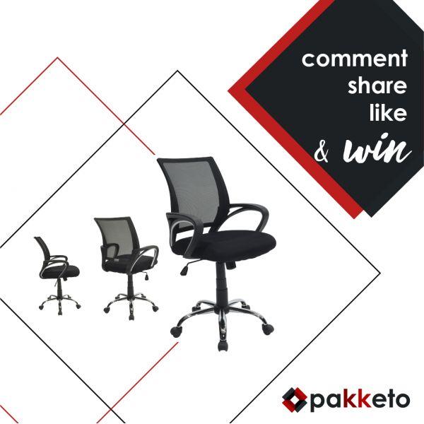 Διαγωνισμός με δώρο τον Armando! Κέρδισε την πολυθρόνα γραφείου της φωτογραφίας κάνοντας α) Like στο page Pakketo αν δεν έχεις κάνει, β) share το post του διαγωνισμού και γ) comment συμπληρώνοντας τη φράση«Αν δεν κερδίσω τον Armando_________»!  [Μετά από κλήρωση θα αναδειχθεί ένας τυχερός. Ο διαγωνισμός ολοκληρώνεται στις 13/2/2017]