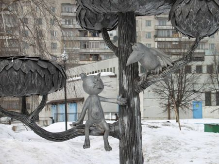 kot_de_azur: Кошачьи памятники