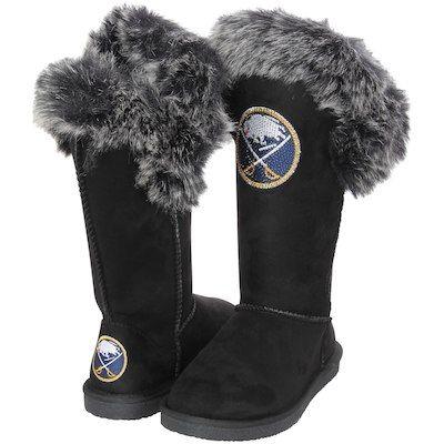 64575db46 Women s Navy Buffalo Sabres Primary Logo Fleece Pullover Hoodie ...