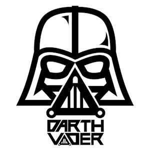 17 Best Ideas About Darth Vader Stencil On Pinterest