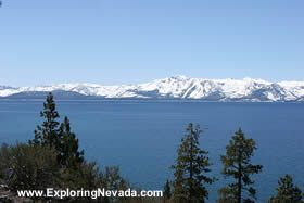 The Lake Tahoe Scenic Drive in California & Nevada : Photos, Maps and Information