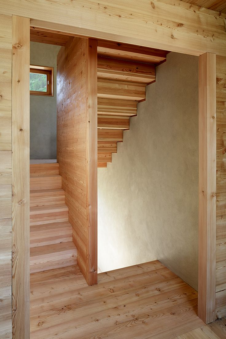 Holzstiege Wohnhaus in Münster - Explore, Collect and Source architecture