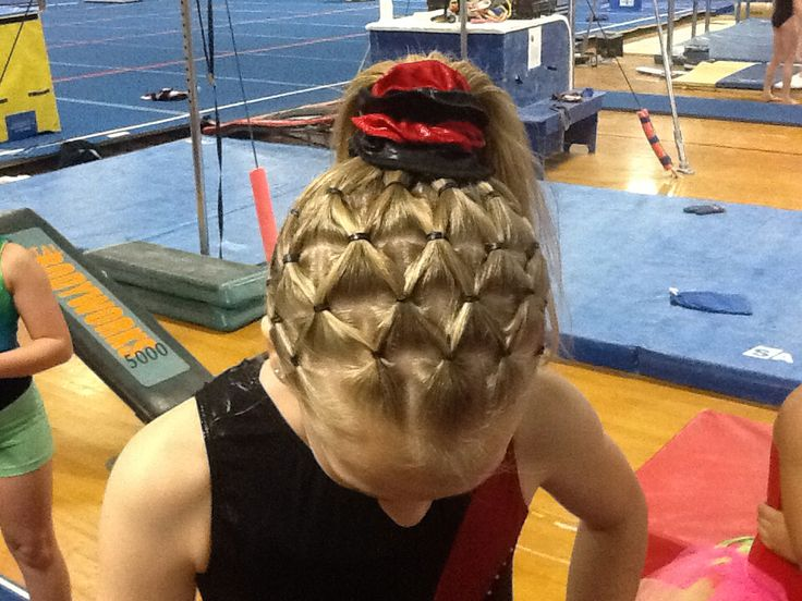 Groovy Gymnastics Gymnastics Hairstyles And Hairstyles On Pinterest Short Hairstyles For Black Women Fulllsitofus