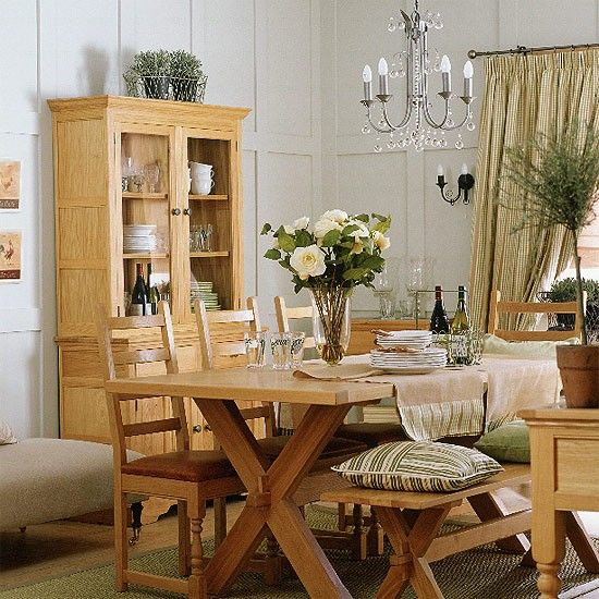 French Country Dining Rooms: French-country Dining Room? I Like The Simple Paneling