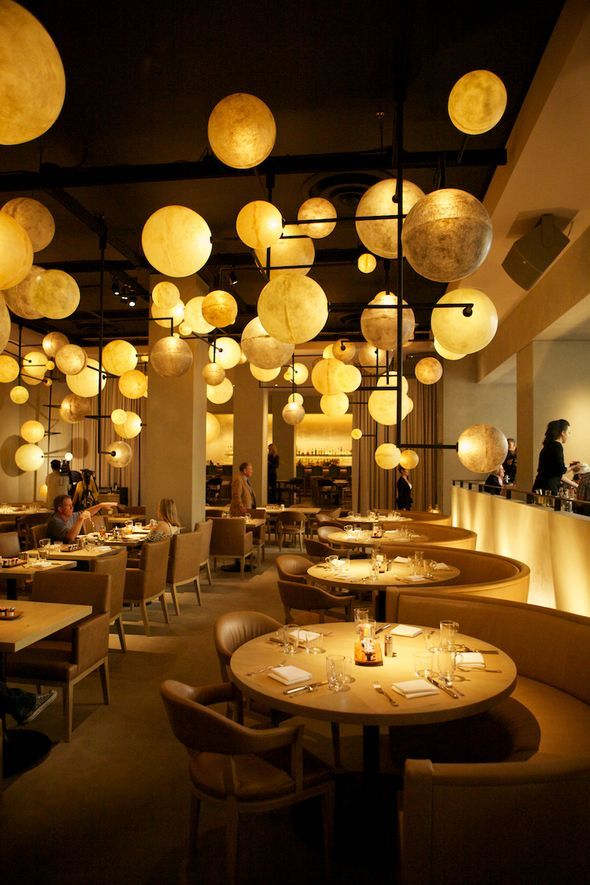 The Pump Room,Public Hotel, Chicago is an awesome restaurant. The menu was crafted by chef Jean-Georges Vongerichten. The focal point is the lighting!