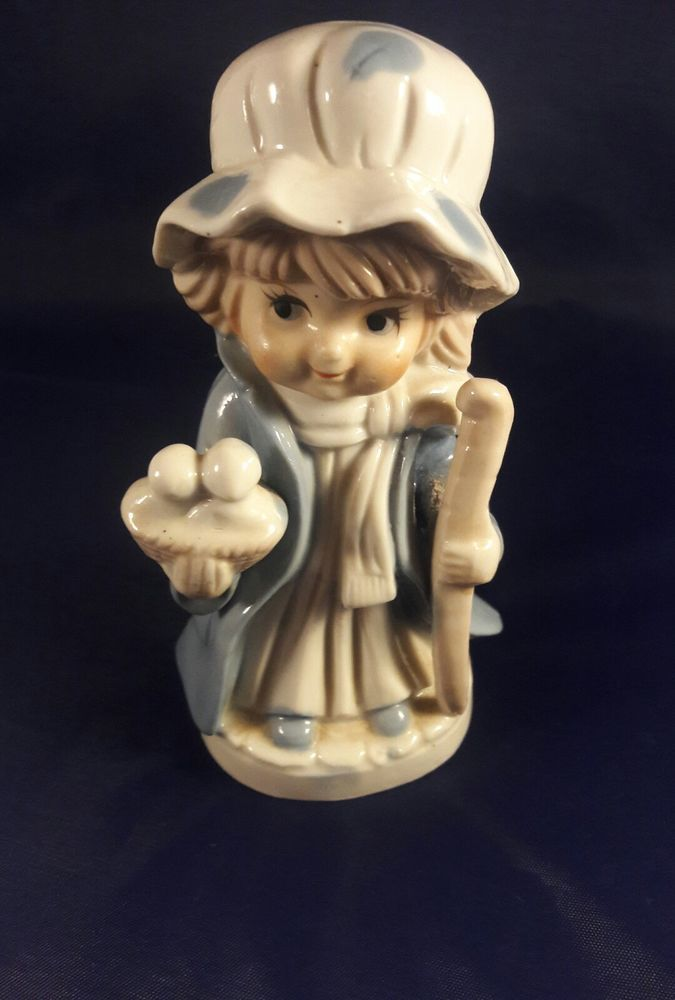 Vintage KPM Figurine - Little Girl with Staff and Basket of Birds | Collectibles, Decorative Collectibles, Figurines | eBay!