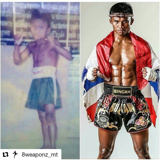 #Repost @8weaponz_mt with @repostapp  What a long journey for Buakaw. He has gone through so much and he is such a big representative for the sport. Many of us look up to his fierce style and strong personality in the ring. Keep it going!   #fbf #buakaw #banchamek #muaythai #thaiboxing #8weaponz #8limbz #mt #A08 #southsidemuaythaiacademy #forceofateam #nakmuay #thailand #atheletes #superhuman #humanweapon #king