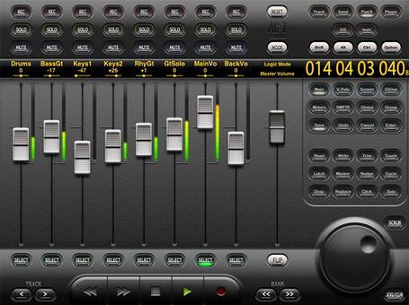 AC7 Core iOS iPad Remote Mixer and DAW Control App Review...