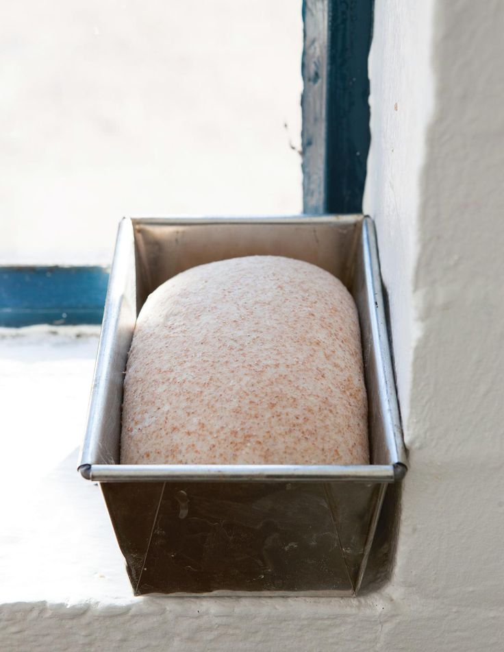Wholemeal Bread ~ brown loaf recipe | by GBBO s3 finalist James Morton from his debut cookbook 'Brilliant Bread' | via The Happy Foodie