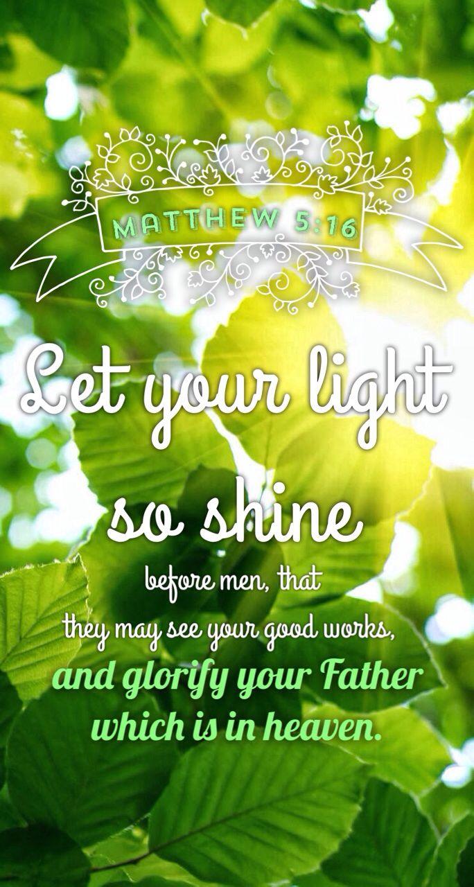 Matthew 5 16