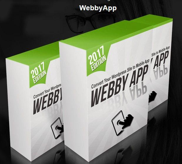 WebbyApp Mobile App Creator Software by Radu Hahaianu
