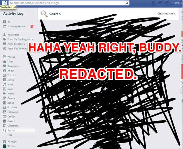 You Can View Your Facebook Search History And It Is The Worst Page On The Internet #facebook