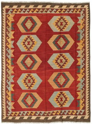 Kelim Afghan Old style-matto 144x195
