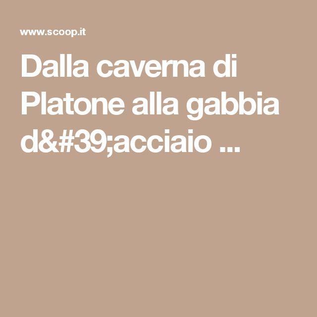 Dalla caverna di Platone alla gabbia d'acciaio ...