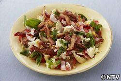 もこみち流 カリカリパンチェッタのサラダ