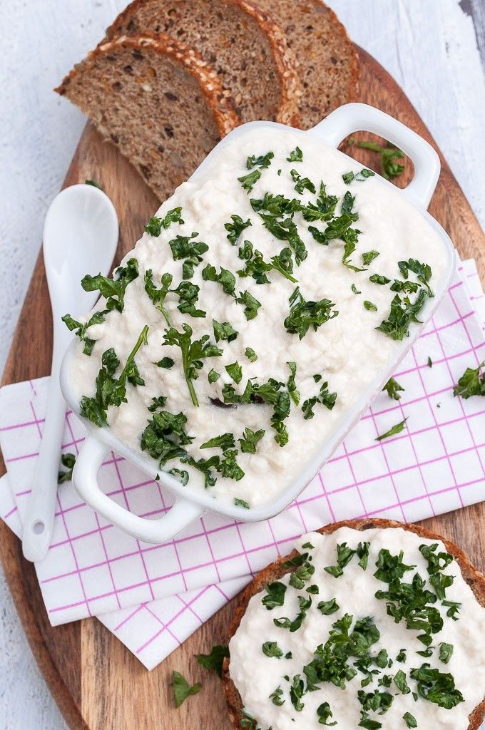 Vegan Cottage Cheese Recipe done in less than 10 minutes! |VeganFamilyRecipes.com | #glutenfree #appetizer #dip