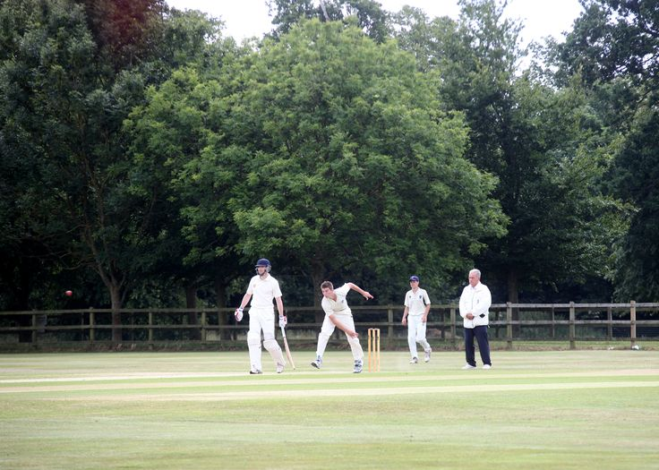 Martin Andersson bowling against the MCC