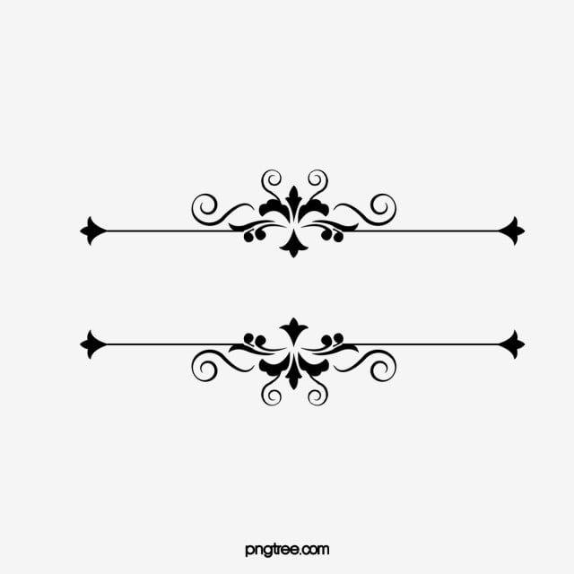 Ligne Decorative Ligne Decorative Motif Fichier Png Et Psd Pour Le Telechargement Libre