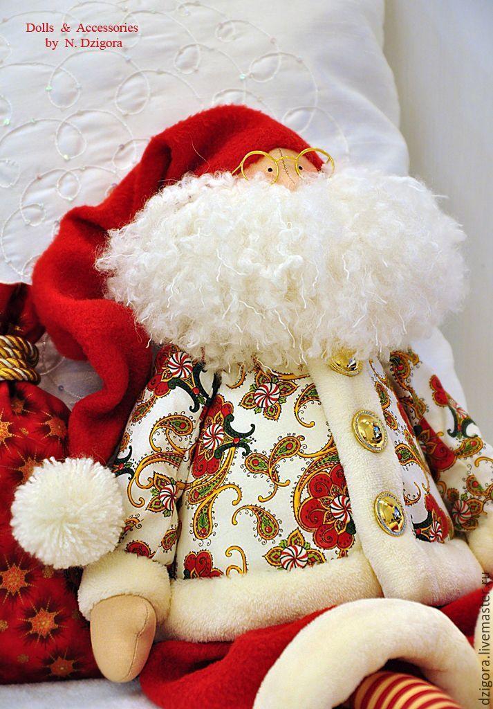 Купить Добрый Волшебник Санта - ярко-красный, санта клаус, санта, санта-клаус
