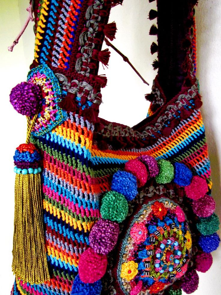 ~ Colorful Ethnic bag...My Tribe ~ | by AowDusdee