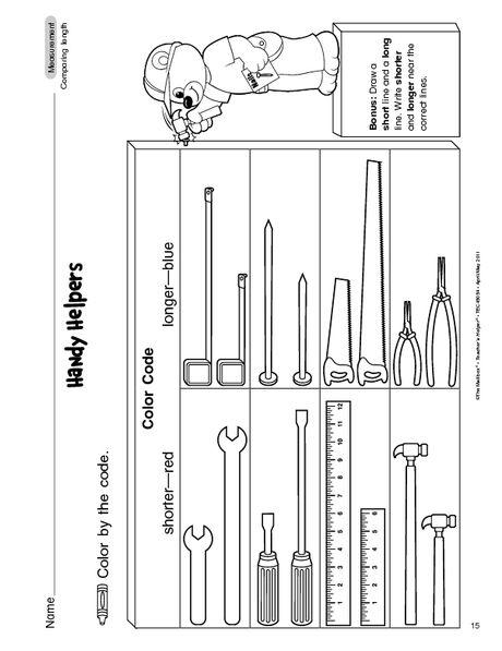 kindergarten comparing length worksheets tall and short worksheetskindergarten measurement. Black Bedroom Furniture Sets. Home Design Ideas