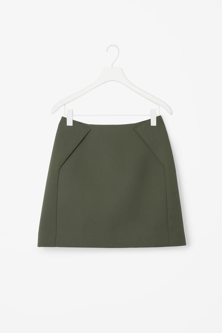 COS | Short A-line skirt