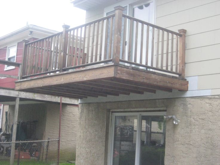 The Cantilevered Balcony Home Bedroom Balcony Second