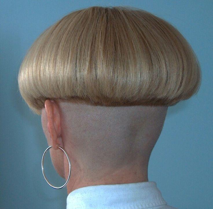 Bowl cut | Nape shave | Pinterest | Bowl cut, Bobs and ...